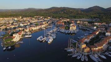 Golf von St. Tropez, Luftaufnahme von Port Grimaud