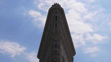 New York Summer Sky berühmte flache Eisenplatte 4k USA