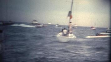 (Super 8 Vintage) Speed Boat Racing Competition