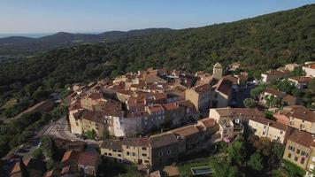 francia, provence alpes-cote-d'azur, var, veduta aerea di ramatuelle