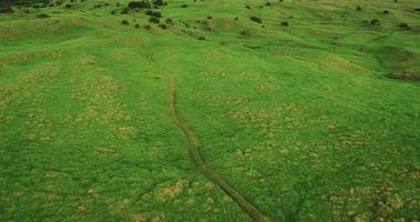 vista aérea voando sobre belas paisagens video