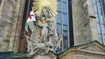 Muerte janissary escultura memorial de asedio de Viena Austria