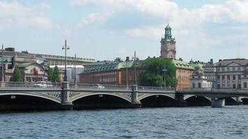 Stoccolma vista città vecchia, Svezia