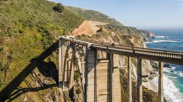 Bixby Bridge in Big Sur Kalifornien