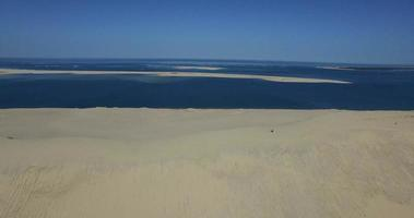 Luftaufnahme der Dune du Pilat, Arcachon, Frankreich