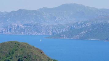 Marmaris, Turquie, destination de voyage d'été de la vie quotidienne video