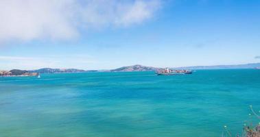 lapso de tempo da ponte Golden Gate pan à esquerda