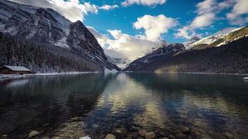 Laps de temps du lac Louise
