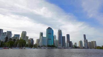Brisbane Cityscape Movimento Timelapse video