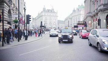 Zeitraffer Verkehr Haymarket Street, London, Mai 2016