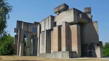 chiesa wotruba, vienna, austria, edificio non convenzionale video