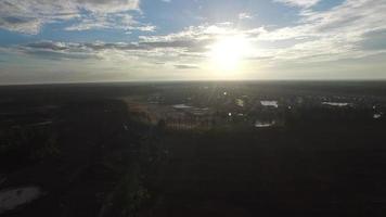 nascer do sol sobre o subúrbio 2