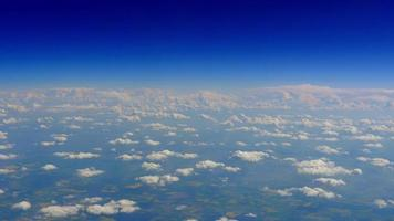 Clouds Aerial, Blue Sky Horizon Background