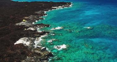 Lava Flow Coral Reef Seascape