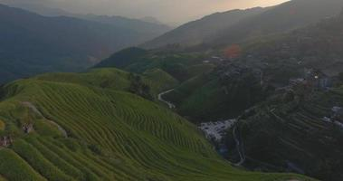 terrazza del riso longji a ping an village