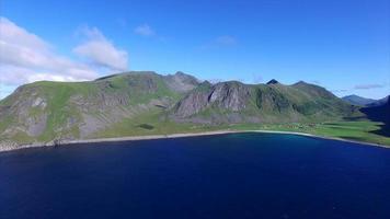 Côte des îles Lofoten, Norvège