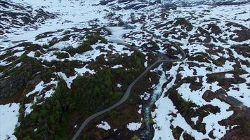 lago congelado ryfylke video
