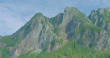 monte si, curva norte, visão panorâmica do outono de Washington através dos picos