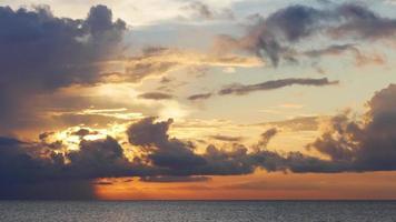 USA estate giorno tramonto cielo florida lago 4k lasso di tempo