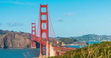 Zeitraffer für Golden Gate Bridge, San Francisco