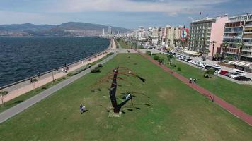 vista di Izmir, Turchia