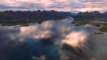 antenna panoramica di vesteralen in norvegia