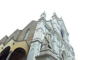 Basilica di Santa Croce a Firenze, Italia