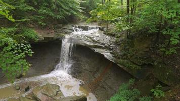 Blue Hen Falls, beautiful scene in Cuyahoga Valley National Park