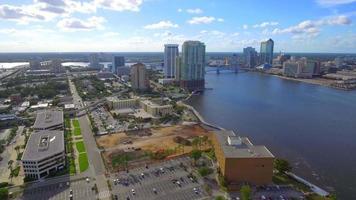 imágenes aéreas del centro de jacksonville florida