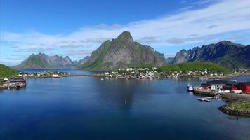 porto de pesca de Reine na noruega, lofoten