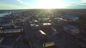 Luftbild Portland Maine