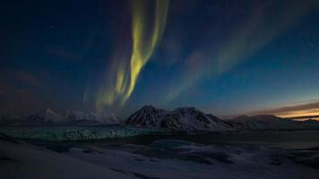 aurora boreale in 4K