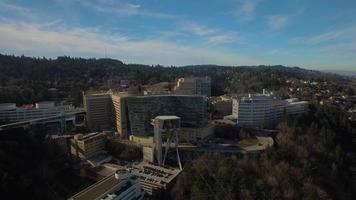 aéreo oregon portland ohsu video