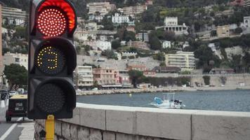 semaforo prima di entrare in porto