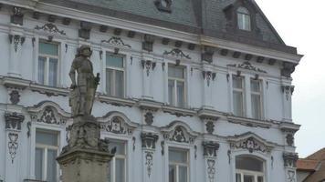 estátua do cavaleiro em bratislava