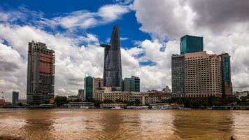 paisaje urbano - ciudad ho chi minh, vietnam video