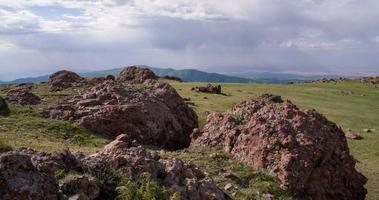 vista desde las estribaciones del valle video