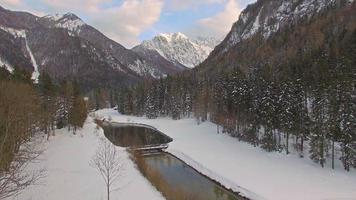 hermoso lago jezersko, eslovenia video