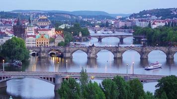 Charles Bridge und Castle View Prag