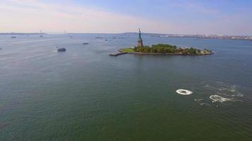 statua aerea della libertà