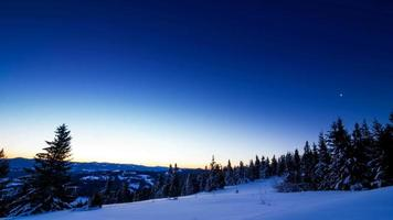 paisaje invernal video