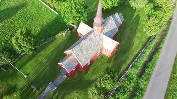Church in Flakstad on Lofoten