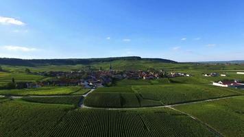 villaggio di chamery, champagne-ardenne, francia