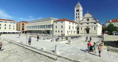 Forum romain à Zadar, Croatie