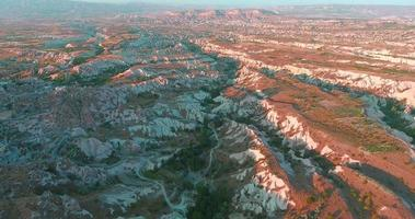 Cappadocia pigeon valley aérea 4k, 2016 video