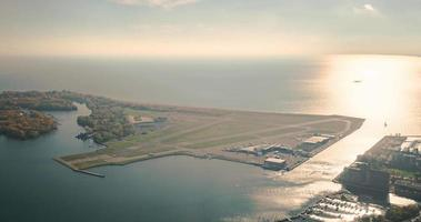 toronto, canada, timelapse - billy bishop toronto city airport
