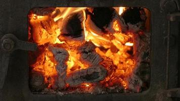 fiamma di fuoco video