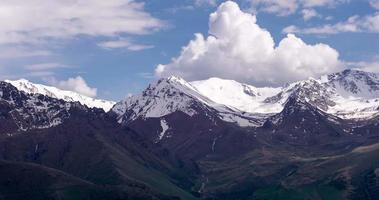 impressionante paisagem de montanha video
