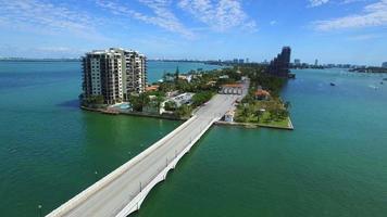 Luftbild Video venezianischen Damm