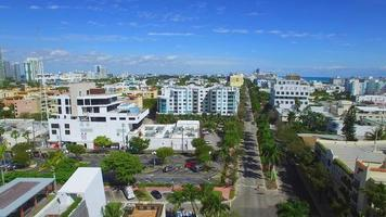 Luftbild von Washington Avenue Miami Beach